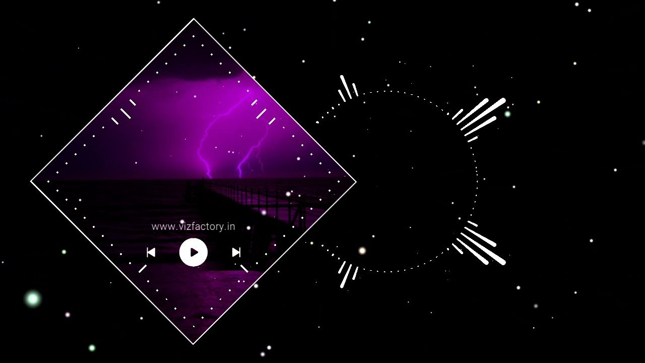 Kraftwerk Dark Side Visualizer Template Download for Avee Player