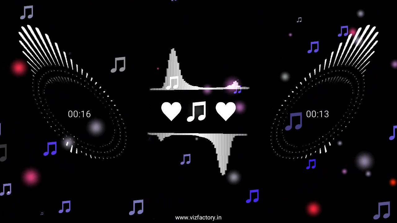 Music Bars Rotate with Beat Motion Avee Player Template Free Download