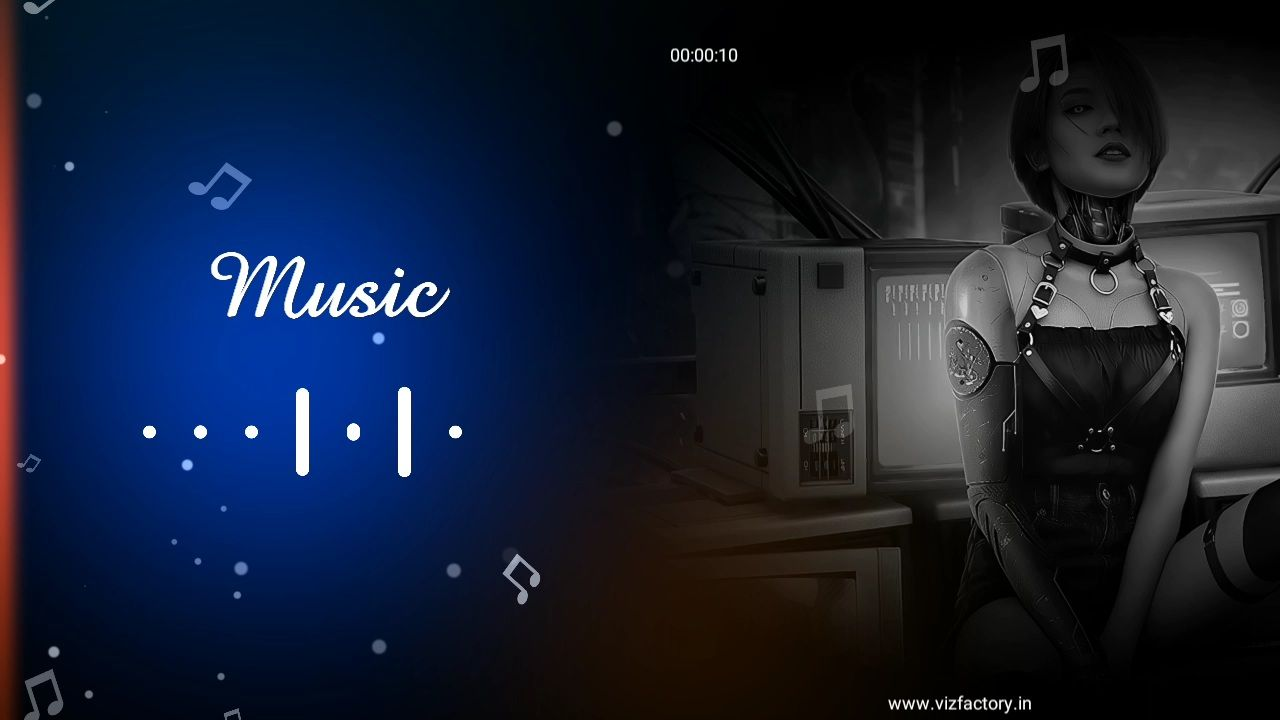 Dj Song Video Maker Visualizer Template Download for Avee Player