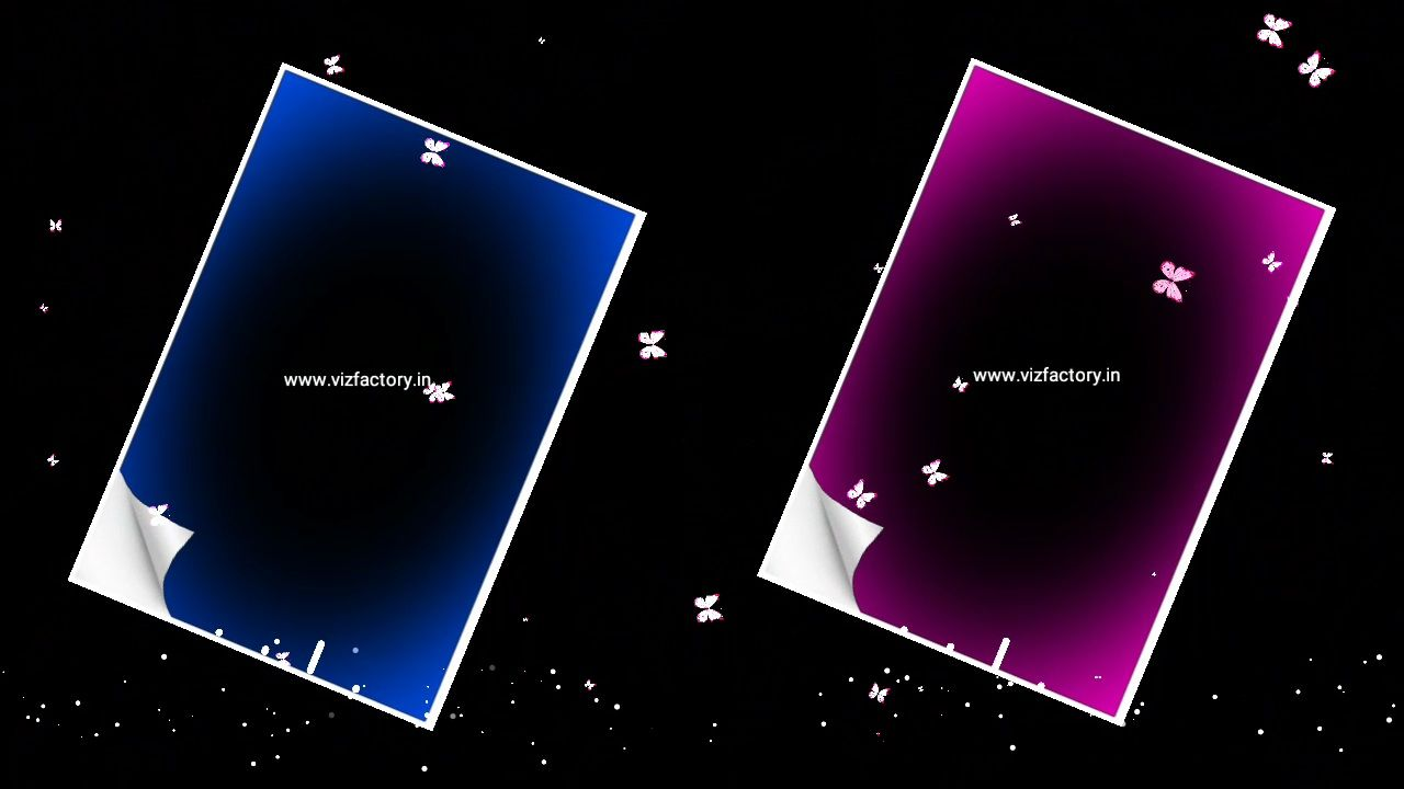 Mirror Visualizer Vector Page Avee Player Template Download