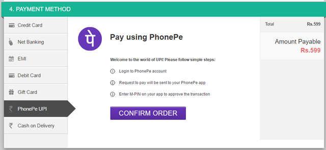 PhonePe UPI