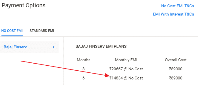 iphone x bajaj emi finserv