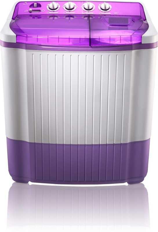 MarQ by Flipkart 7.5 kg Semi Automatic Top Load Washing Machine Purple, White(MQSA75)