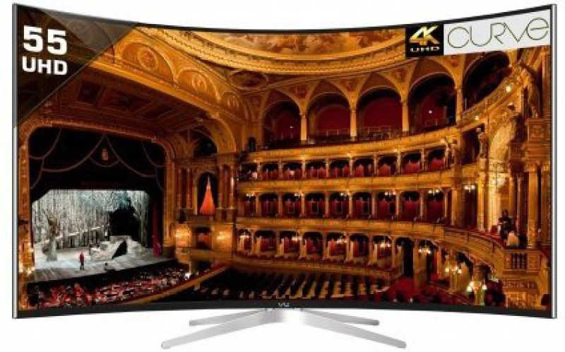 Vu 139cm (55 inch) Ultra HD (4K) Curved LED Smart TV(TL55C1CUS)