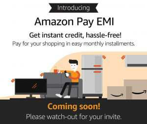 Amazon Pay EMI Check