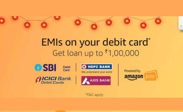 Debit Card EMI on Amazon – How to Get?