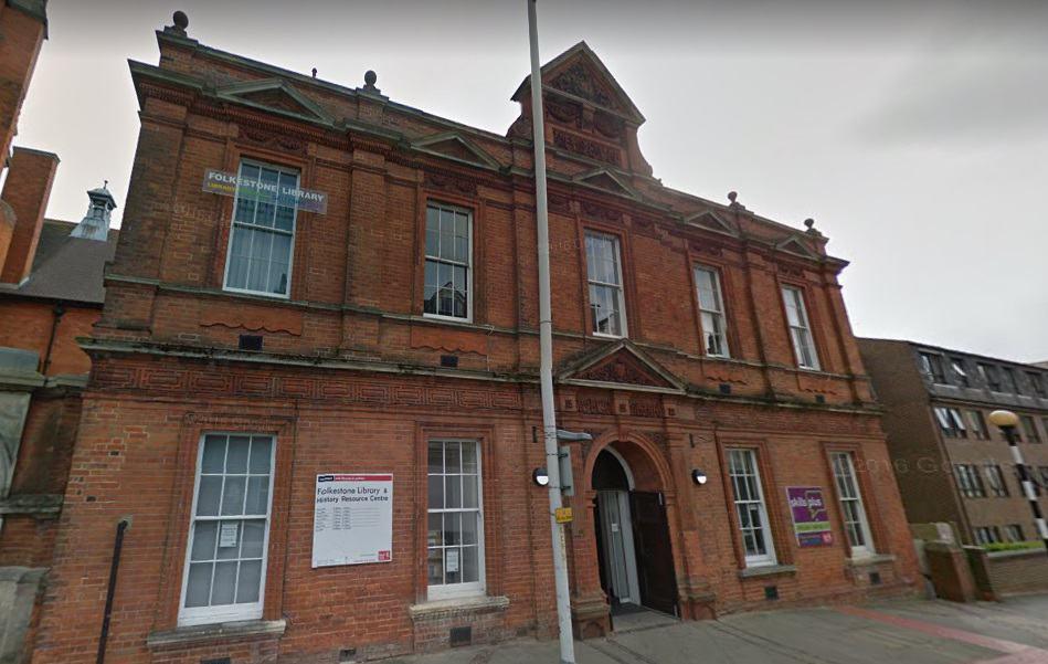 Folkestone Library Registry Office