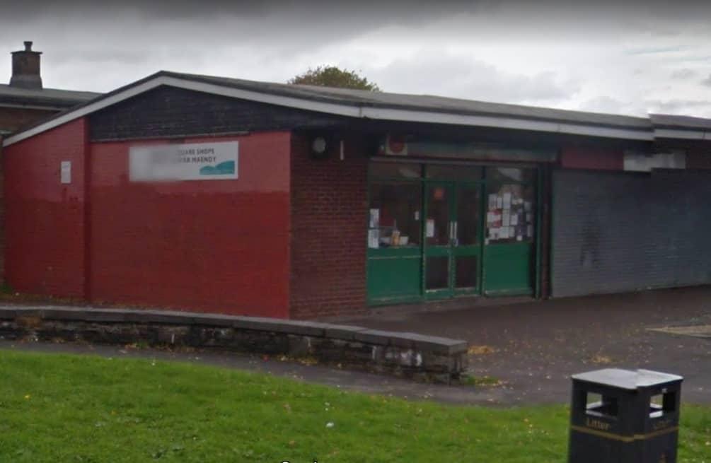 Maendy Square Post Office