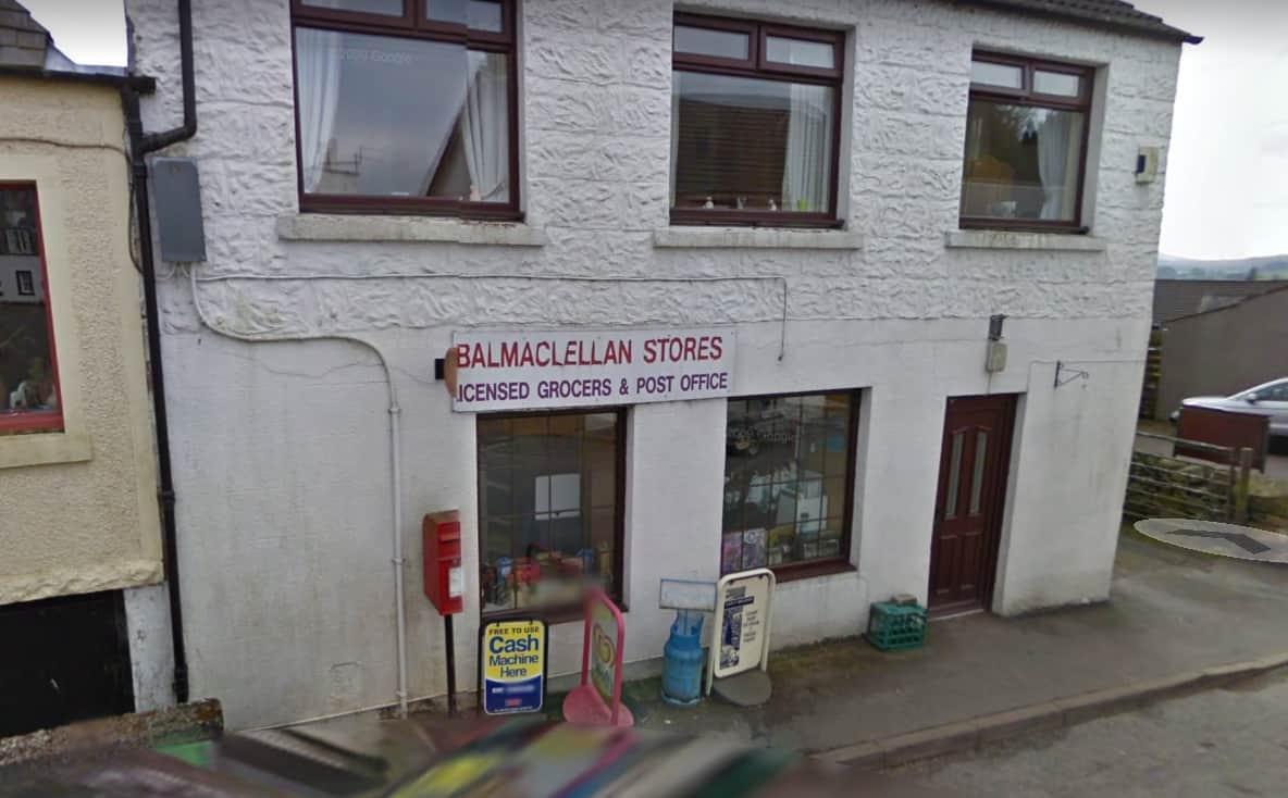 Balmaclellan Mobile Service Post Office