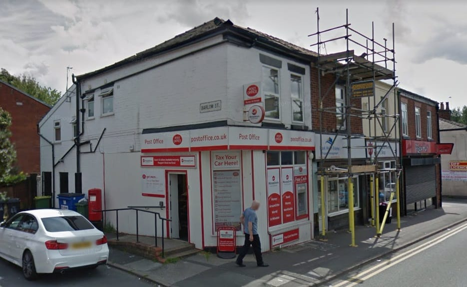 Plungington Road Post Office