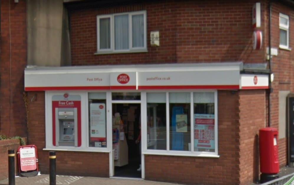 Ashton Lane Ends Post Office