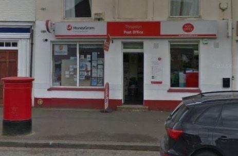 Thrapston Post Office