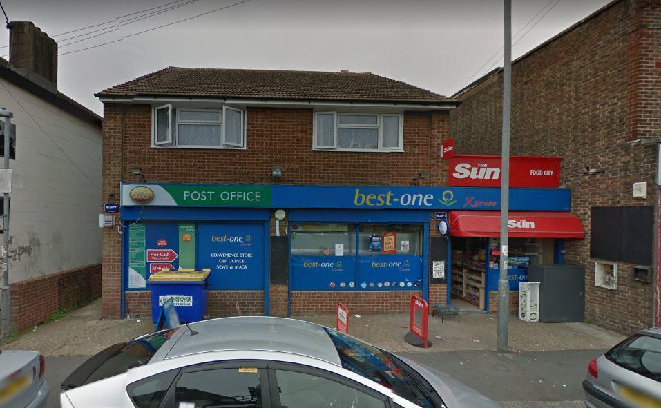 Hollington Post Office