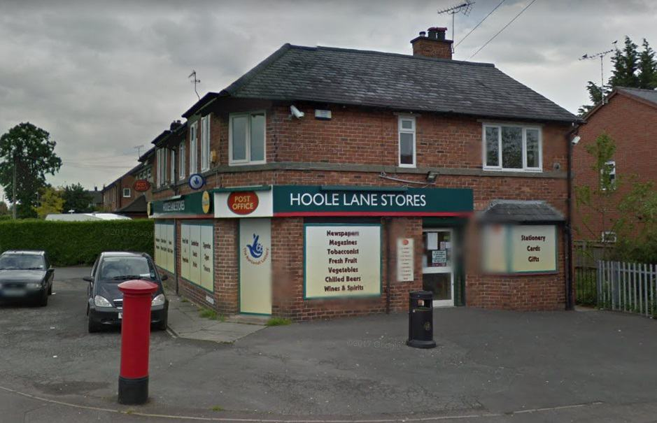 Hoole Lane Post Office