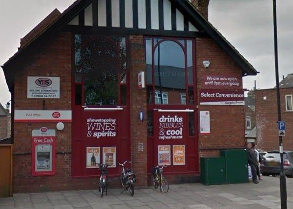 York Road Post Office