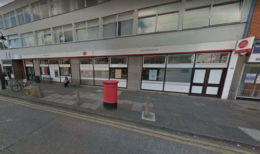 Wealdstone Post Office