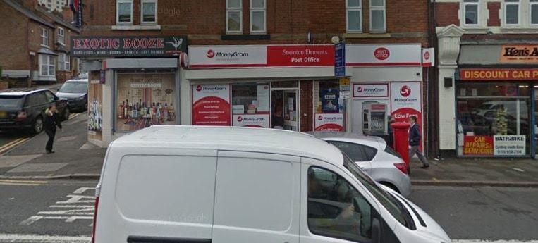 Sneinton Elements Post Office
