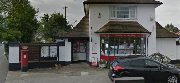 Farndon Green Post Office