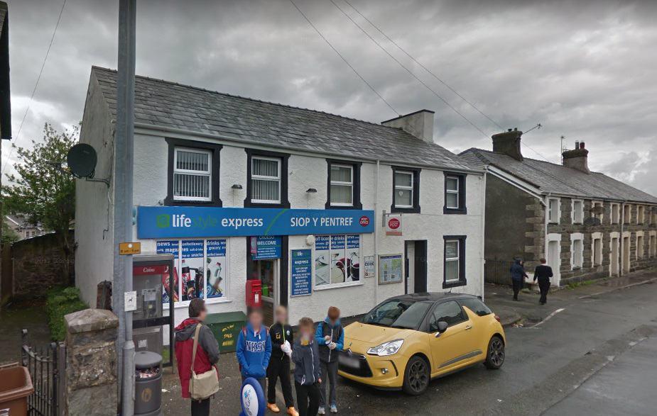 Llanllechid Post Office