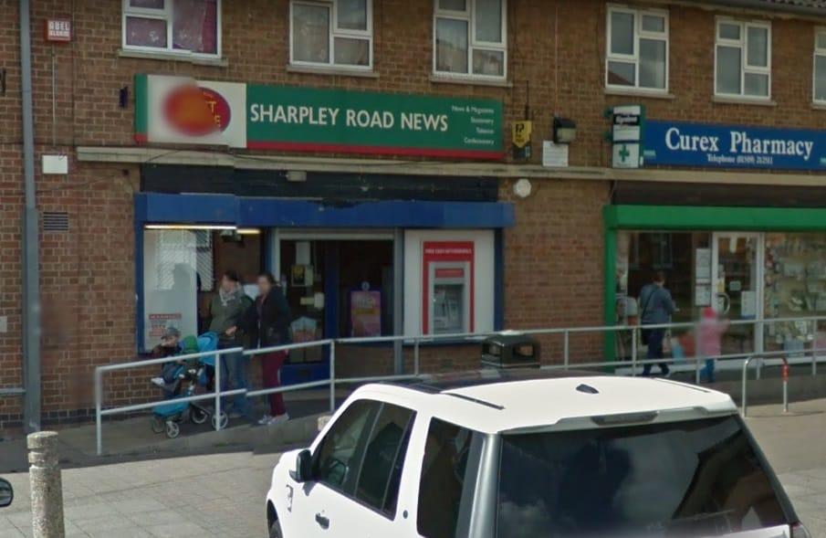 Sharpley End Post Office