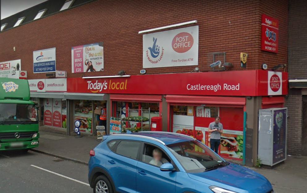 Castlereagh Road Post Office