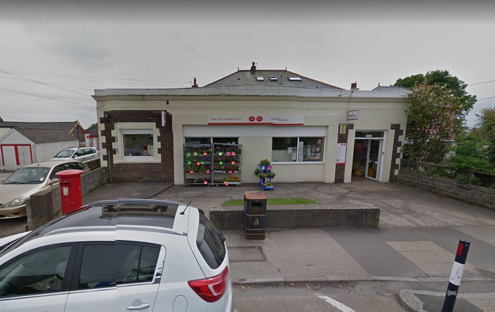 Rhoose Post Office