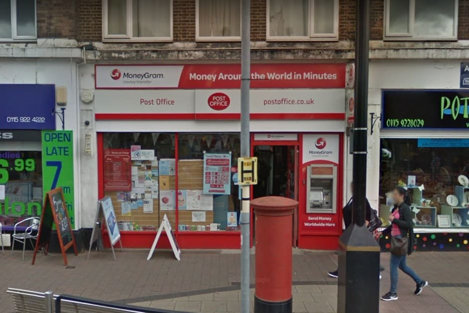 Beeston Post Office