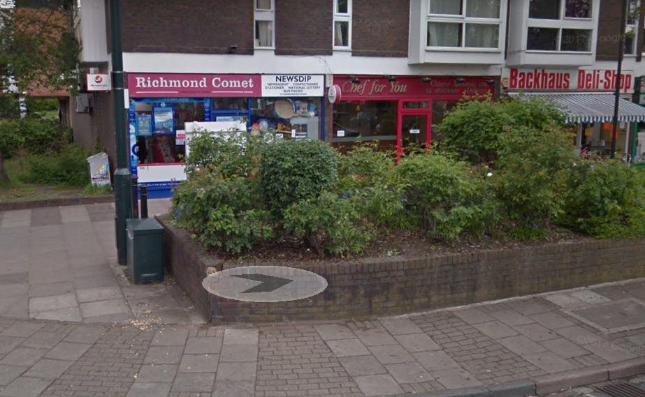 Ashburnham Road Post Office