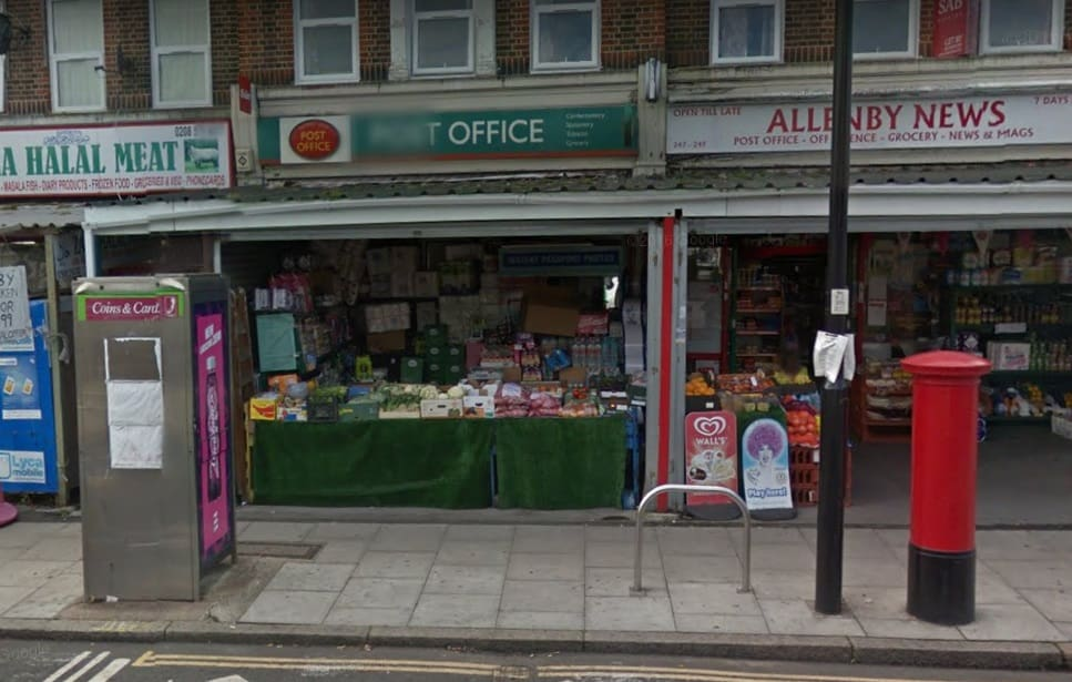 Allenby Road Post Office