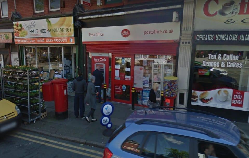 Moss Lane Post Office