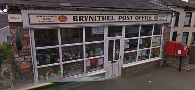 Brynithel Post Office