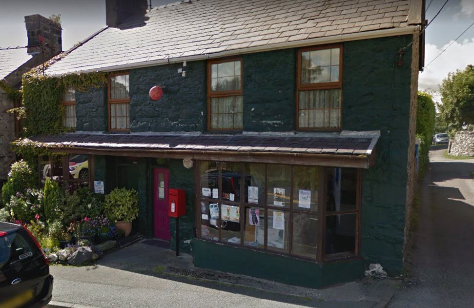 Brynrefail Post Office
