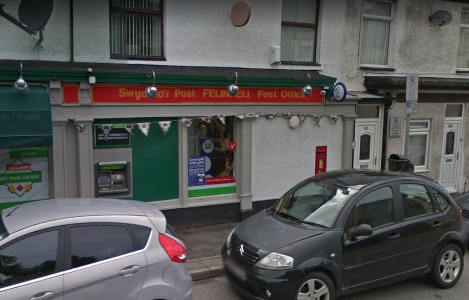 Y Felinheli Post Office