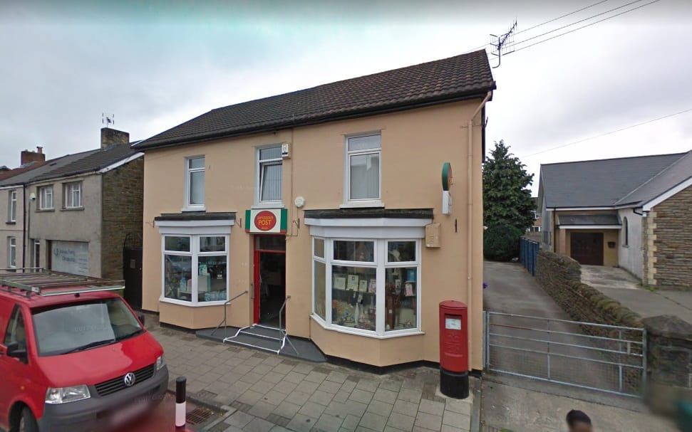 Bedwas Post Office