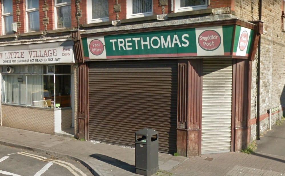 Trethomas Post Office