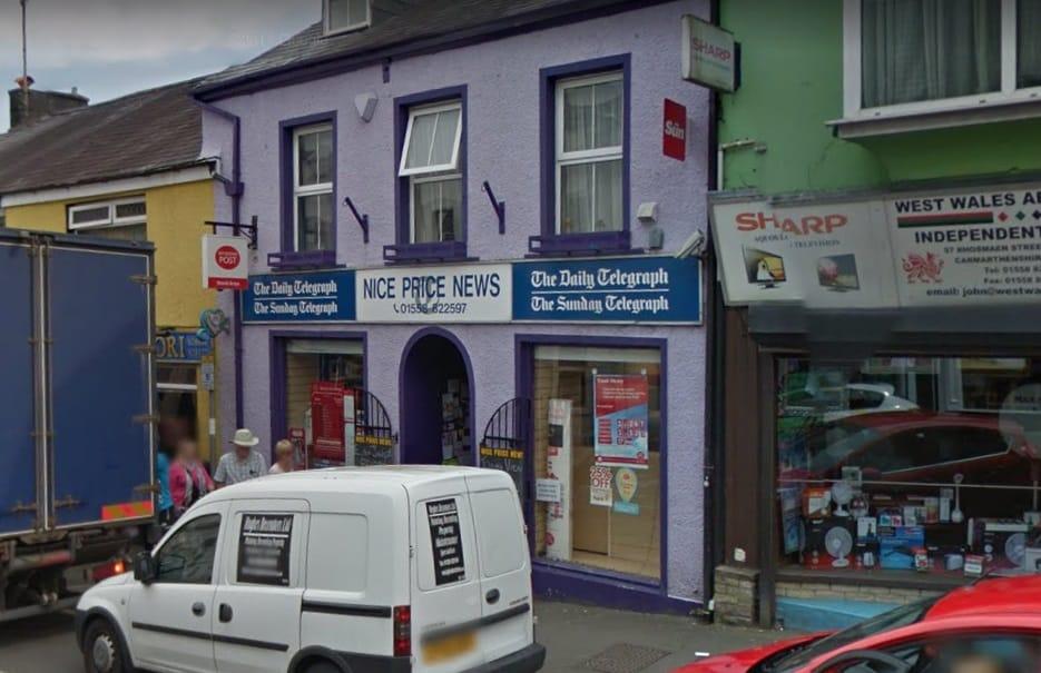 Llandeilo Post Office