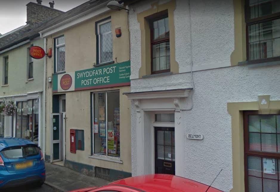 Llandysul Post Office