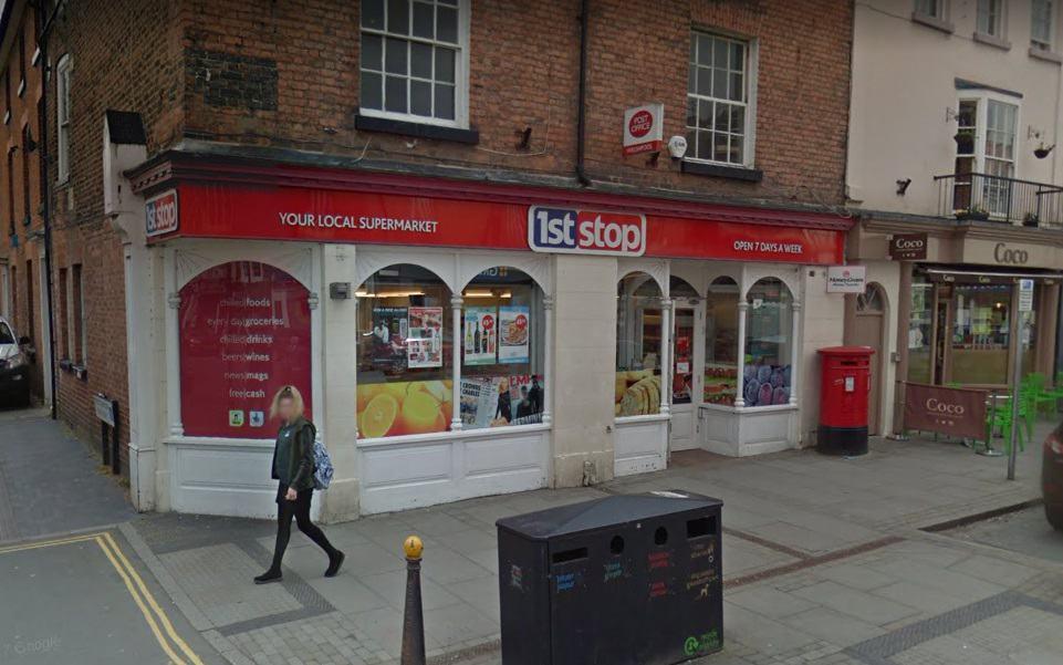 Welshpool Post Office