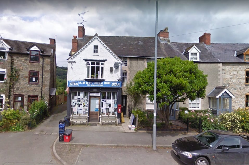 Meifod Post Office