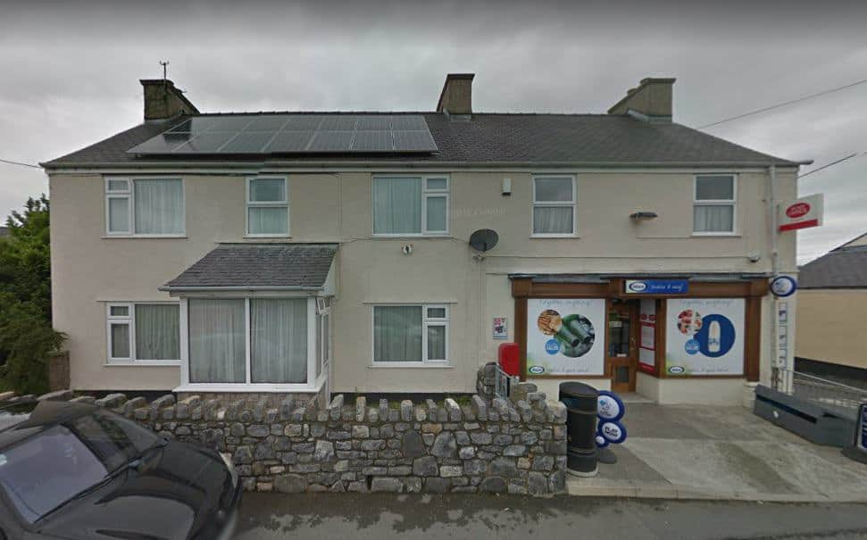 Llanddaniel Post Office