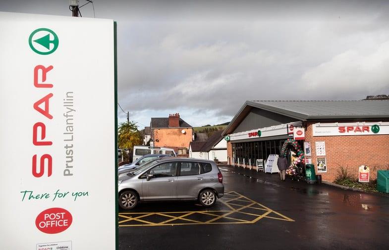 Llanfyllin Post Office
