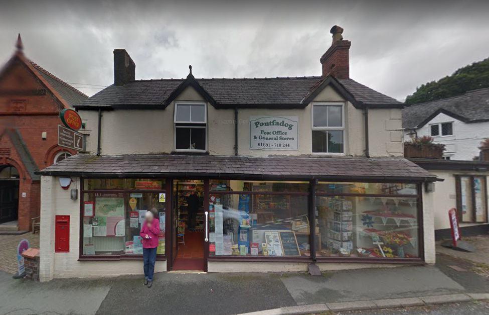 Pontfadog Post Office
