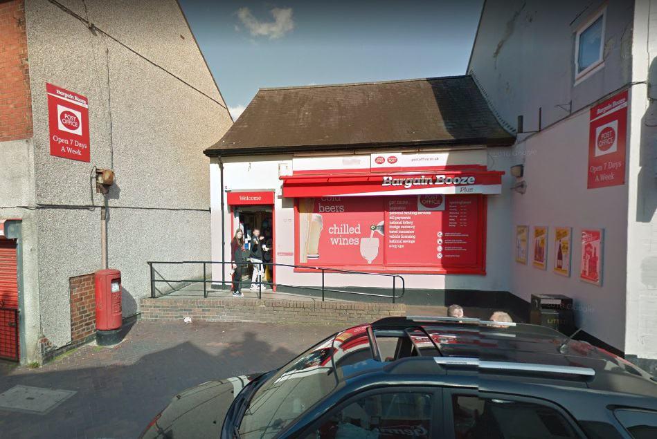 Rhosllanerchrugog Post Office