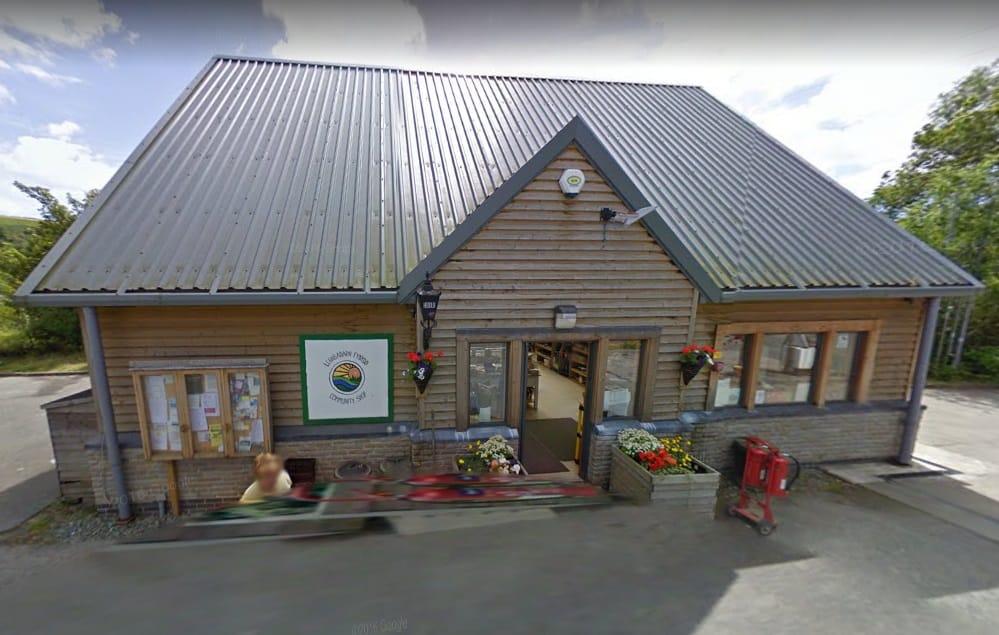 Llanbadarn Fynydd Post Office