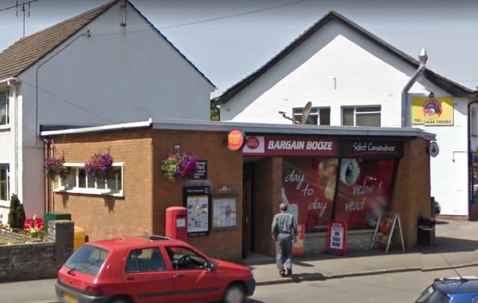 Boverton Post Office