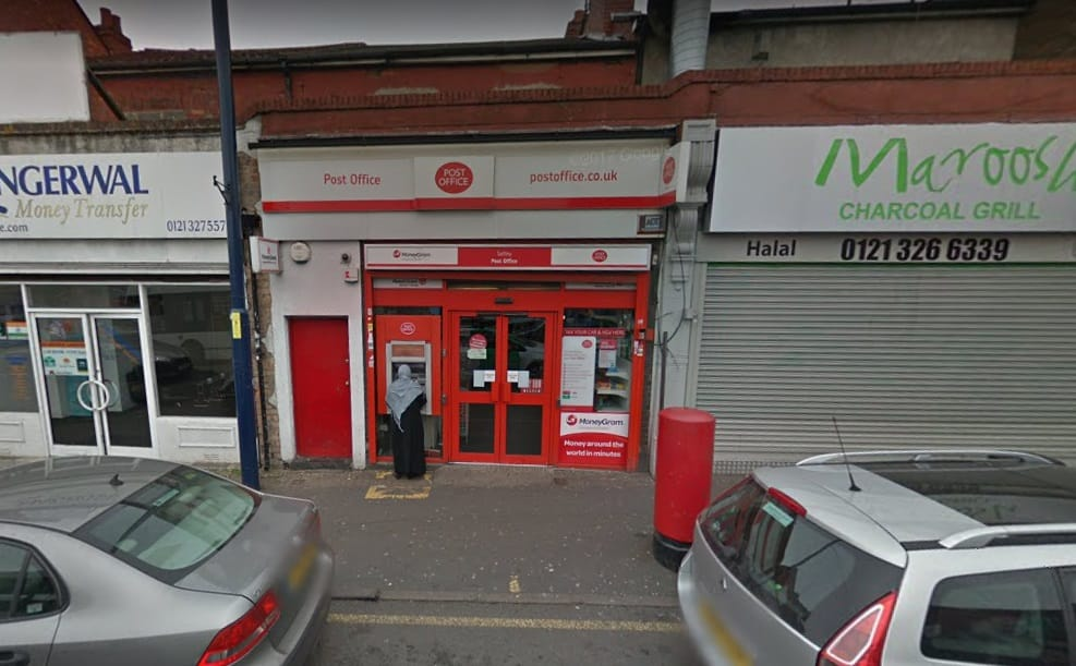 Saltley Post Office