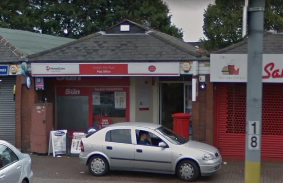Nechells Park Road Post Office