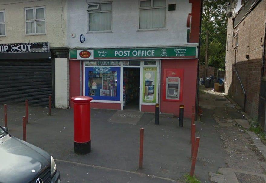 Meldon Road Post Office