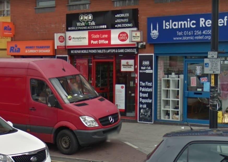 Slade Lane Post Office