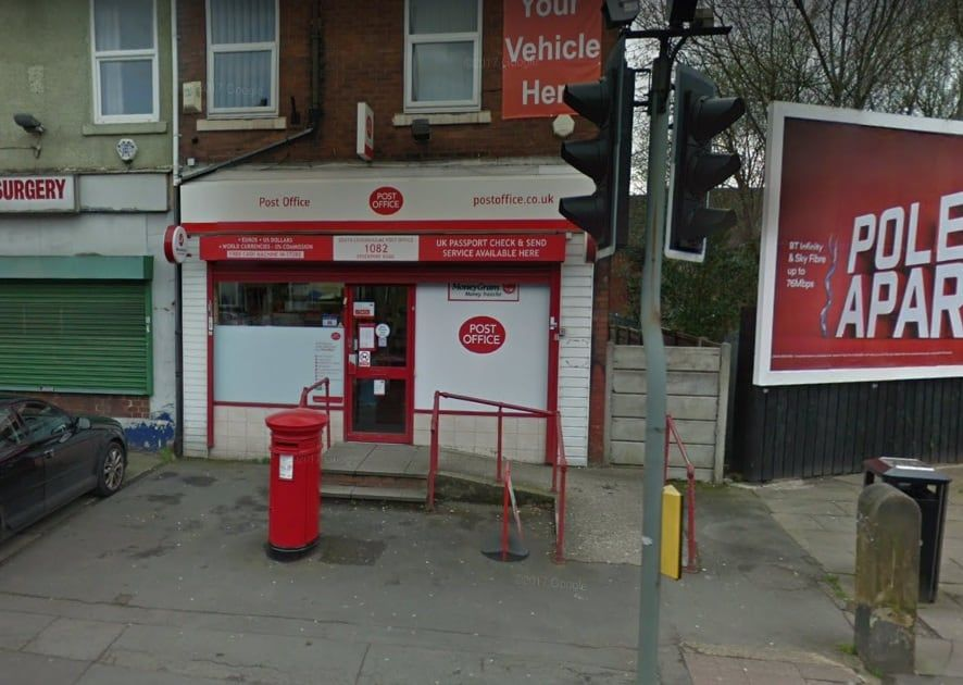 South Levenshulme Post Office